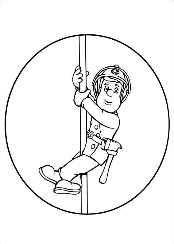 Feuerwehrmann Sam 21 Ausmalbilder für Kinder Malvorlagen