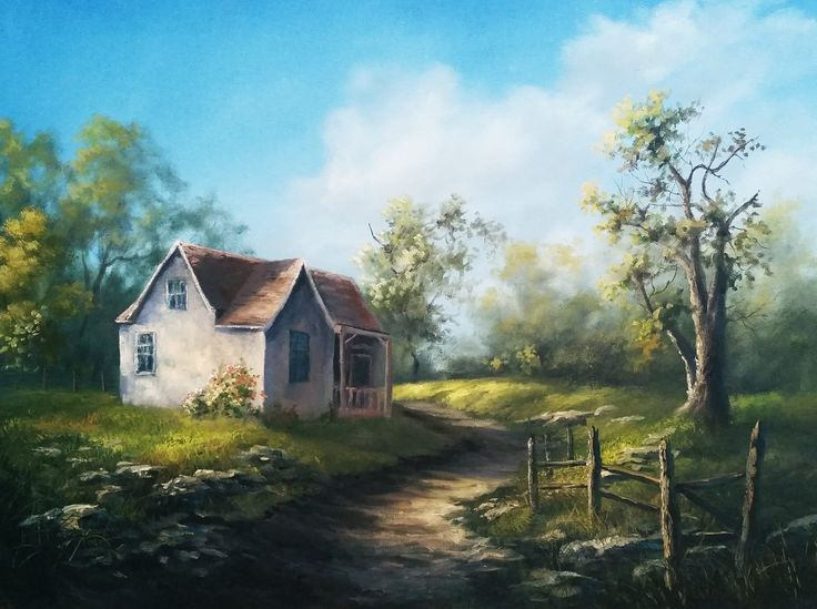 109 best images about kevin hill oil paintings on for Classic house follow me