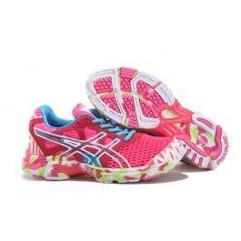 Verkaufen Asics GEL-Noosa TRI 7 Frauenschuhe Rosa Blau Schuhe Online |  Genial Asics Schuhe