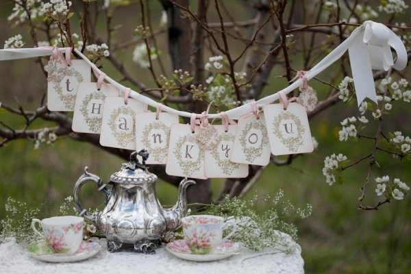 Filigree, Bone China (Royal Albert - Blossom Time), Silver, Teapots, all the ingredients for a tea party!