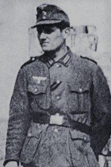 """Waffen-Unterscharführer Eugène Vaulot (1923-1945), Gruppenführer in der 33. Waffen-Grenadier Division der SS (franz. Nr.1) """"Charlemagne"""" i. Kampfraum Groß Berlin, Ritterkreuz 29.04.1945"""