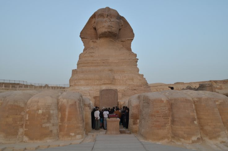 The Great Sphinx of Giza- Holidays in Egypt http://www.maydoumtravel.com/Egypt-Travel-and-Tour-Packages/4/0/