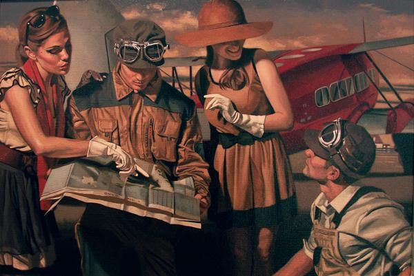 Paintings by Peregrine Heathcote