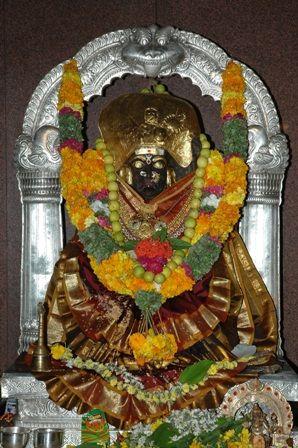 Ancient Shakthi Peeth Dakshina Kashi Jogulamba temple Alampur, Telangana, India