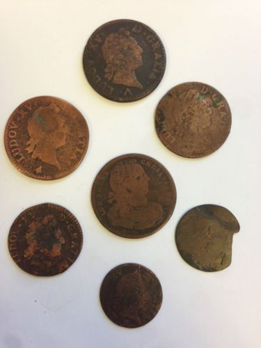 best th century french society images coinage louis xv lot monnaie piece royale louis 18th century archaeology
