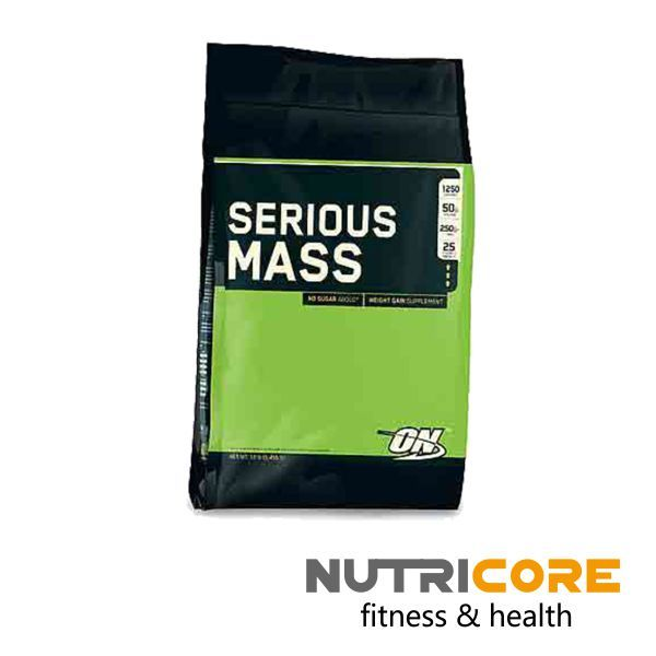 SERIOUS MASS | Nutricore | fitness & health