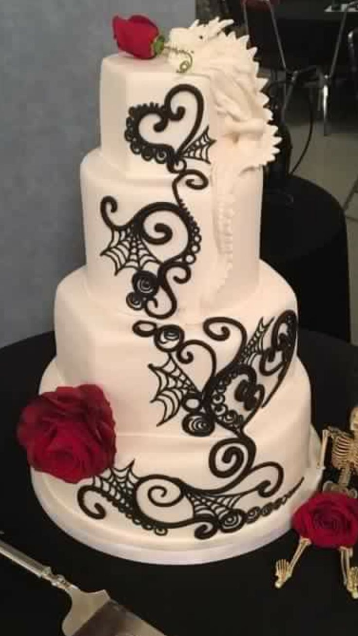 Dragon Wedding Cake on Cake Central