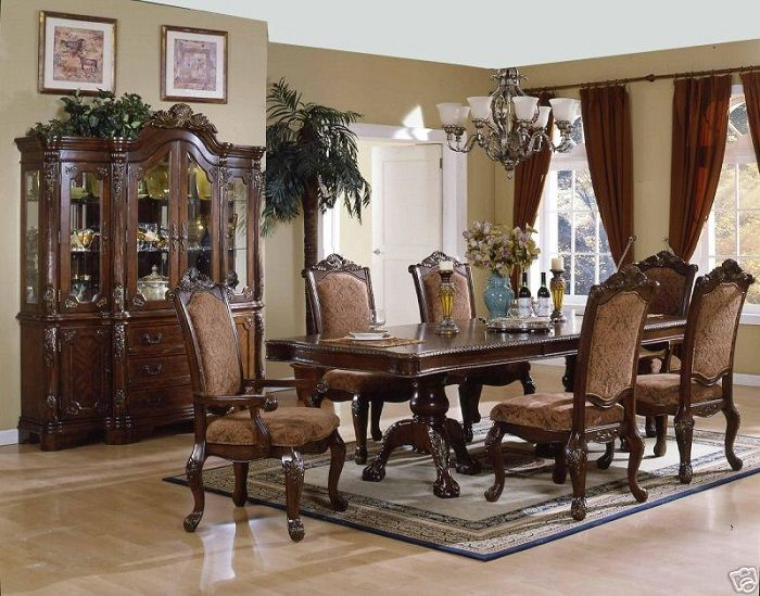 Dining Room Tables Set Design In Your Dining Interior : Old Style Dining  Room Tables Sets
