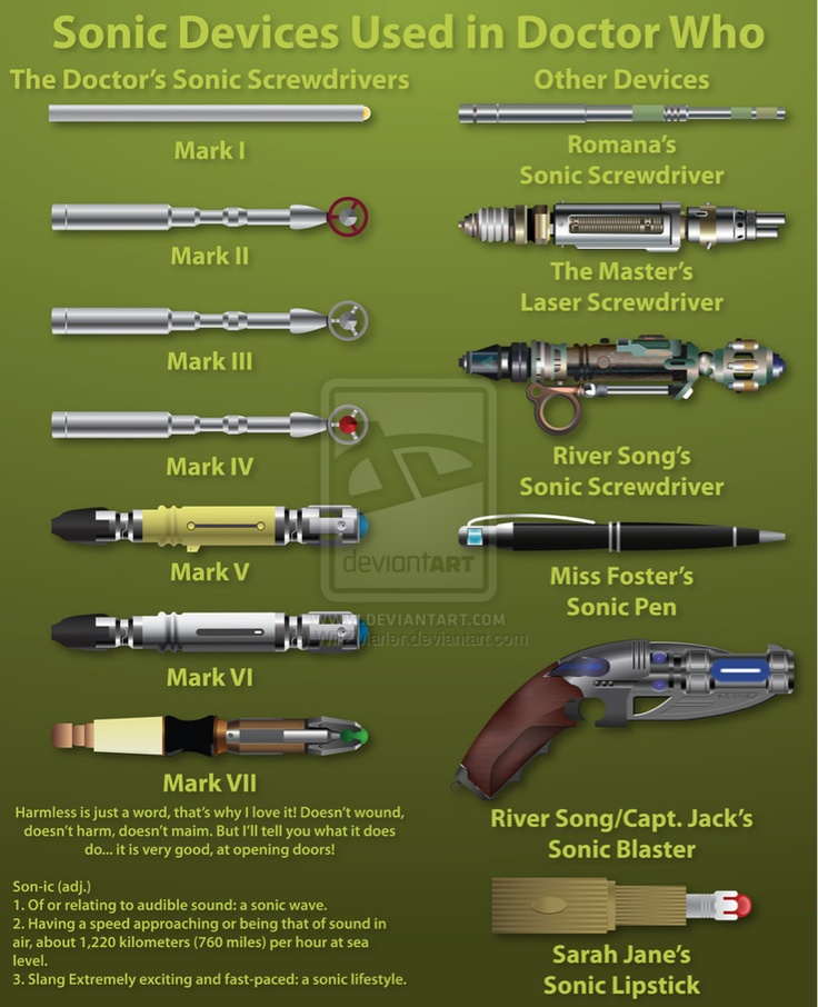 Sonic Screwdrivers                                                                                                                                                                                 More