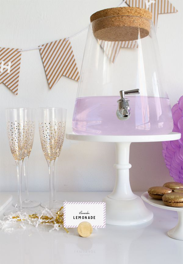 Wonderful A Simple Lavender Baby Shower