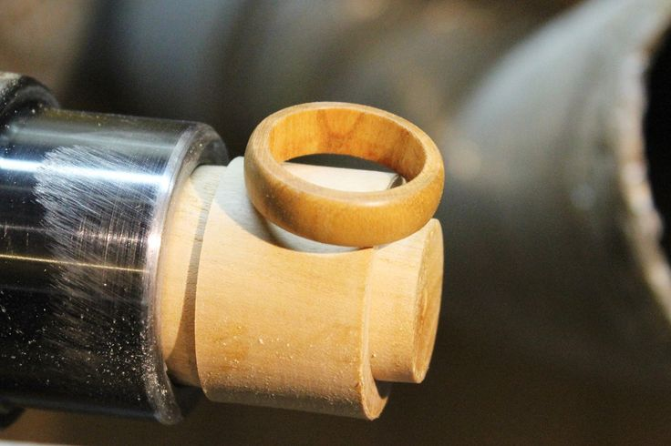 Drechseln eines einfachen Holzringes - Drechsler-Wissen