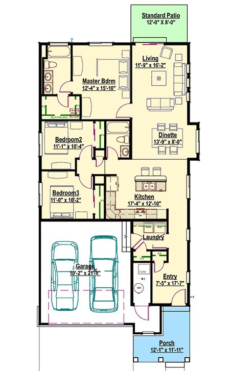 330 best practical homes images on pinterest garage for Practical house plans