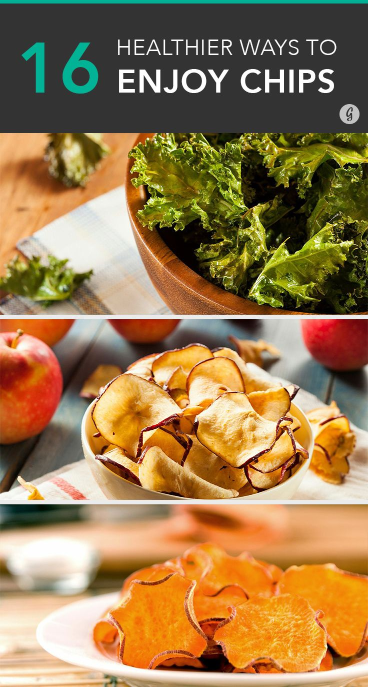 All you need is a little olive oil. #recipes #healthy #chips