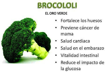 El brocoli: Vegetarian Food, Sana Food, Nutrición Salud, Beneficio Del, Del Brócoli, Alimento Salud, Salud Health, Healthy Eating, Very Vida