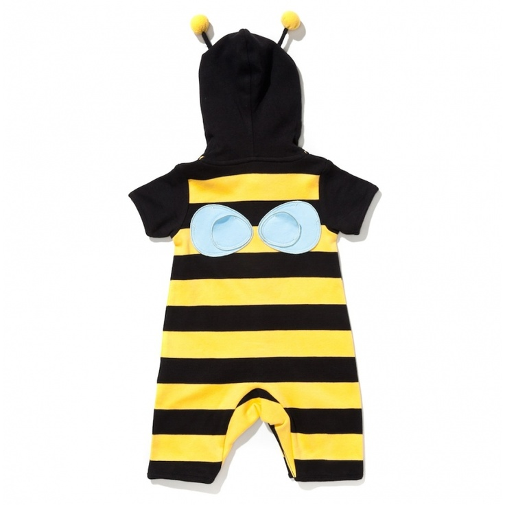 Bumble Bee Character Romper