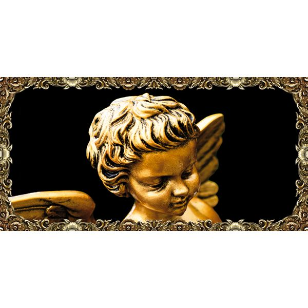 QUADRO ANGELO DI BRONZO CON CORNICE #angeli #angelo #angels #madeinitaly #paintings #pictures #pintdecor #graphicollection #canvas