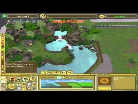 Zoo tycoon 2 - Tutorial - Gray Fox Exhibit - YouTube