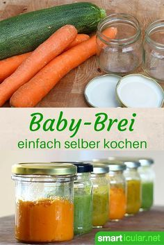 Natürlichen Babybrei ohne Zusatzstoffe lässt sich sehr leicht zu Hause herstellen und portionsweise aufbewahren. Dieses Rezept zeigt, wie einfach es geht!