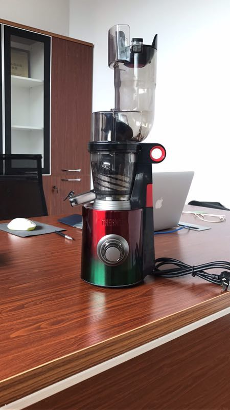 Stainless steel slow juicer