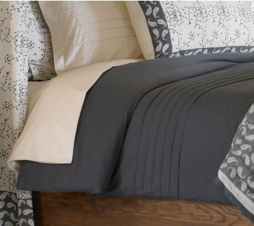 #InspiredGreenLiving - Organic Bedding.  Once you sleep on pure 100% certified organic cotton flannel on a nippy night, all other bedding will become yesterday's bedmates. Our organic cotton 6.4-ounce flannel sheets are napped, brushed and enzyme washed to make them healthy, super soft and pill resistant. Our duvet cover and shams have a sophisticated, pin-tucked design with well-placed pleats.