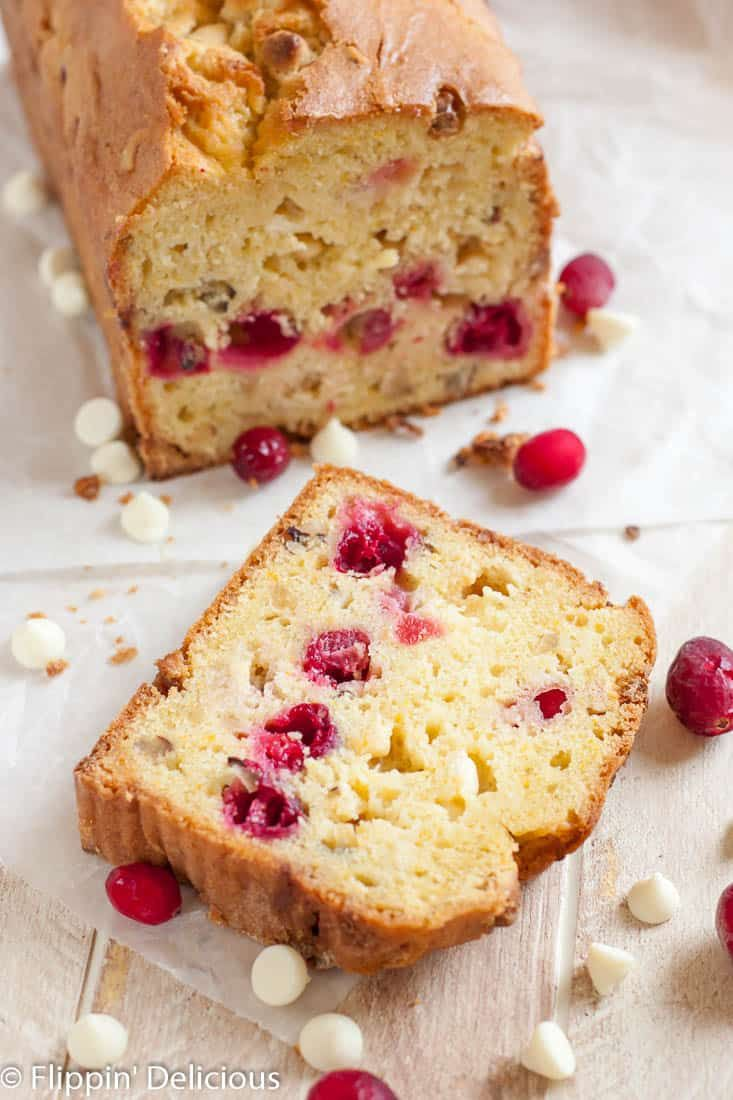 Gluten Free Cranberry Bread With Orange White Chocolate And Hazelnuts Recipe Gluten Free Chocolate Muffins Gluten Free Sweets Treats Gluten Free Christmas Treats