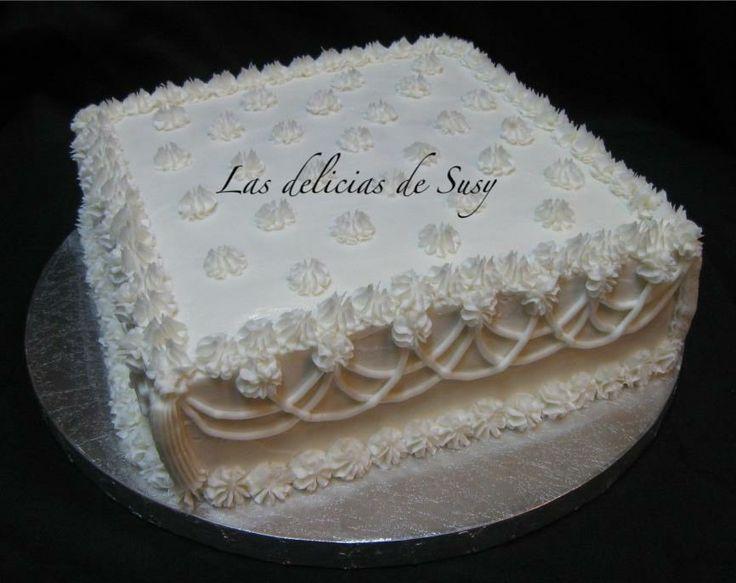 Frosting Wedding Cake