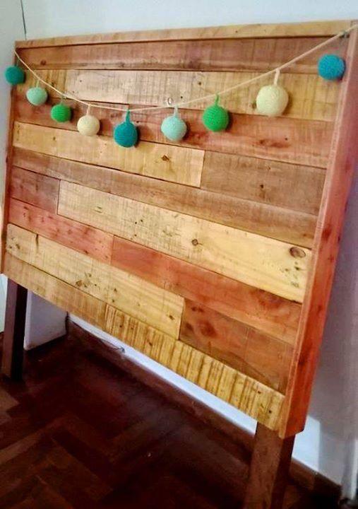 fabricamos respaldos de cama precio resucitando pallets