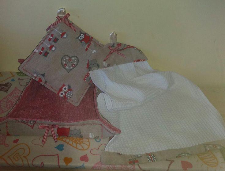 Set con asciugamano da cucina , by francycreations non solo idee regalo, 18,00 € su misshobby.com