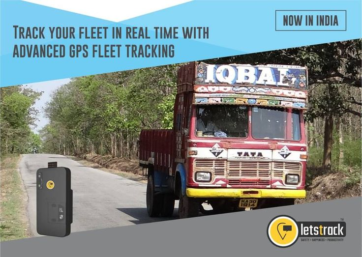 Track your fleet in Real Time with advanced GPS fleet tracking.. #Letstrack #FleetTracking #GPSTrackers