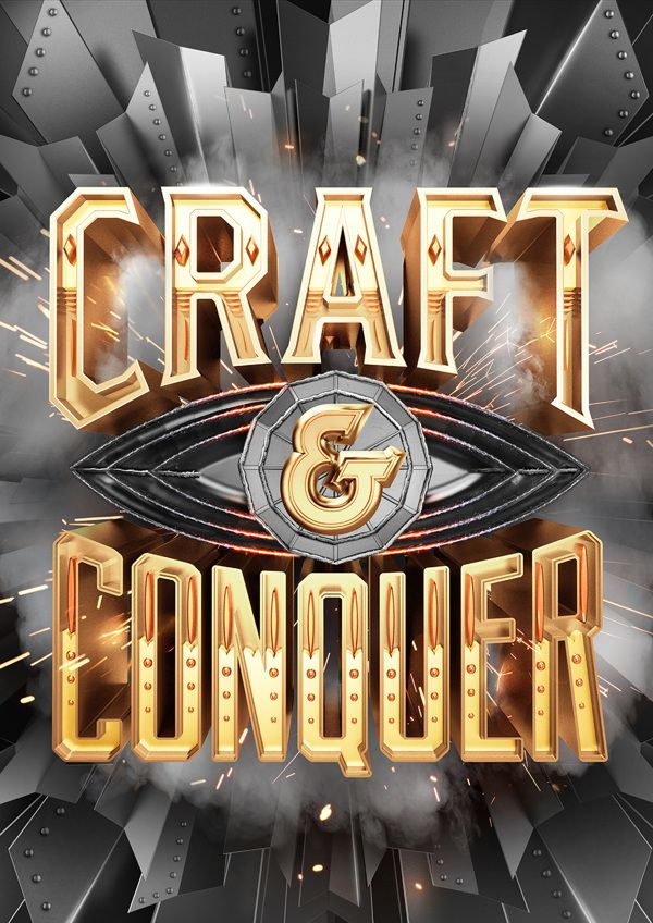 CRAFT & CONQUER by Vault49 , via Behance