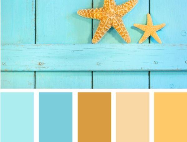 Caribbean Color Schemes Beach Color Palette  Gamesfreezcom  decorating ideas  Summer color