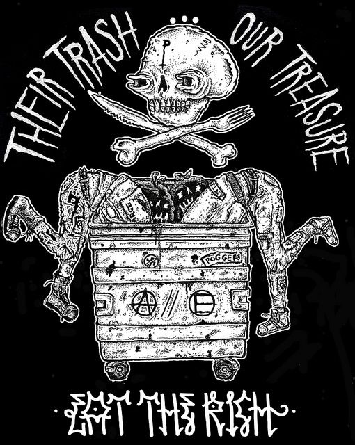 THEIRTRASH...black | by pogger as fuck