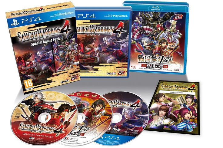 "Today Koei Tecmo announced that the PlayStation 4 version of Samurai Warriors 4 will be given a ""Special Anime Pack"" in both North America and Europe."
