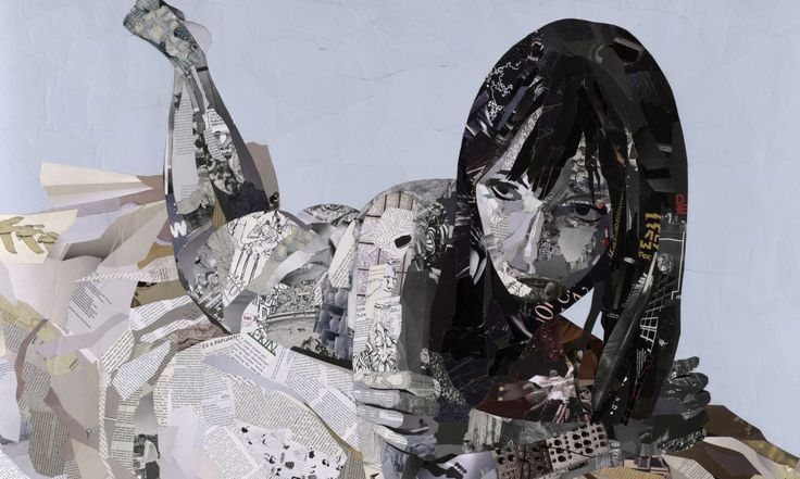 Arte Colagem: Artists Patrick'S, Collage Art, Magazines Art, Castles, Collage Illustrations, Patrick'S Bremer, Portraits, Paper Collage, Recycled Magazines