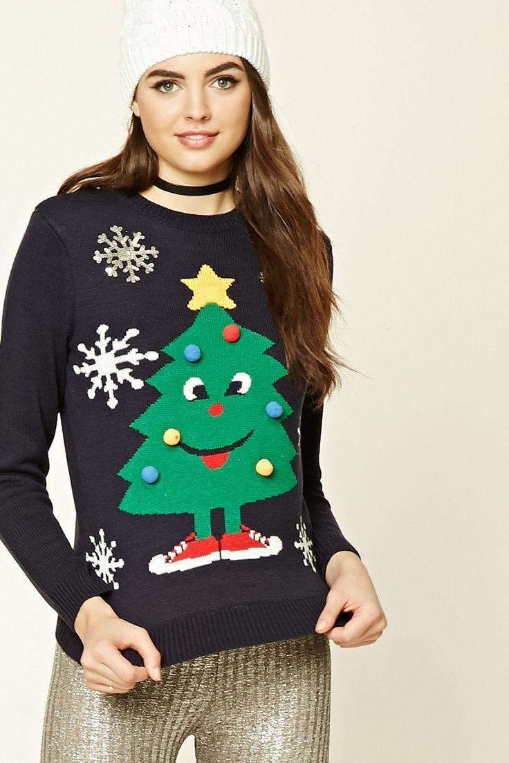 【最短!】Holiday クリスマスツリーニット|FOREVER 21 (フォーエバートゥエンティーワン)の商品詳細ページです。商品説明、画像、レビューも充実。ぜひ楽しいお買いものにお役立てください!- ファッション通販%SITE_NAME