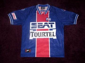 Selling: PSG PARIS SAINT GERMAIN GEORGE WEAH 9 SEAT NIKE 1994