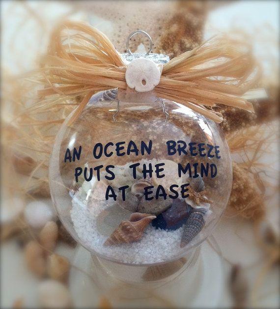 Nautical Ornament Beach Decor by SimplySea on Etsy, $12.00
