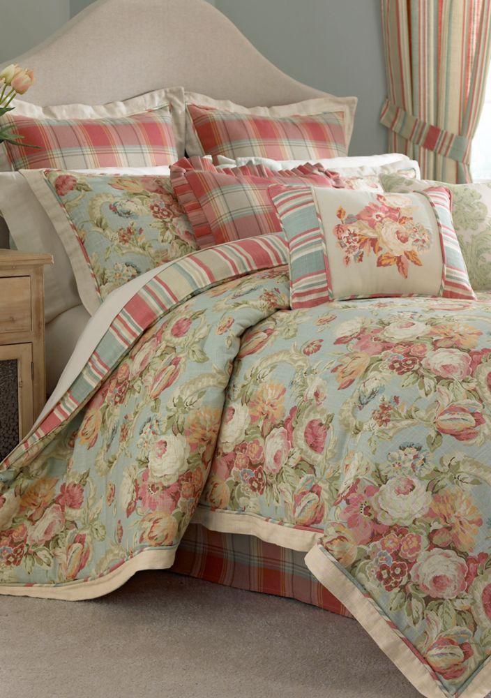 Waverly Spring Bling Reversible Bedding Collection  Belk