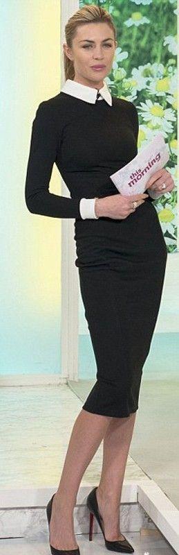 Abbey Clancy pencil dress