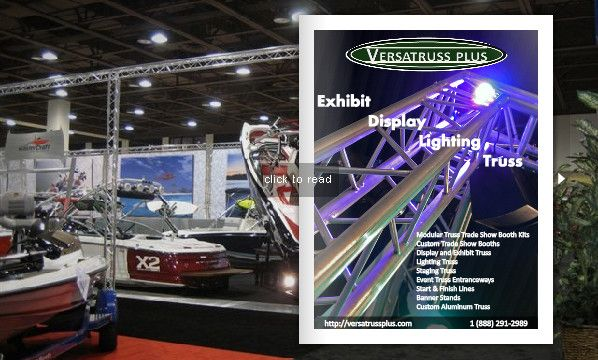 FlipSnack | Exhibit | Display | Lighting | Truss | Trade Show Booths Catalog by Ron Joy