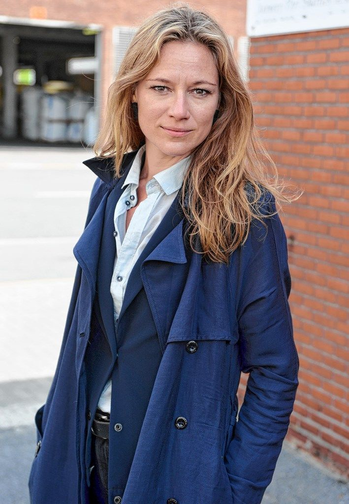 """Hilde De Baerdemaeker speelt commissaris Liese Meerhout in de nieuwe VTM-serie """"Coppers"""". Foto JVDP"""