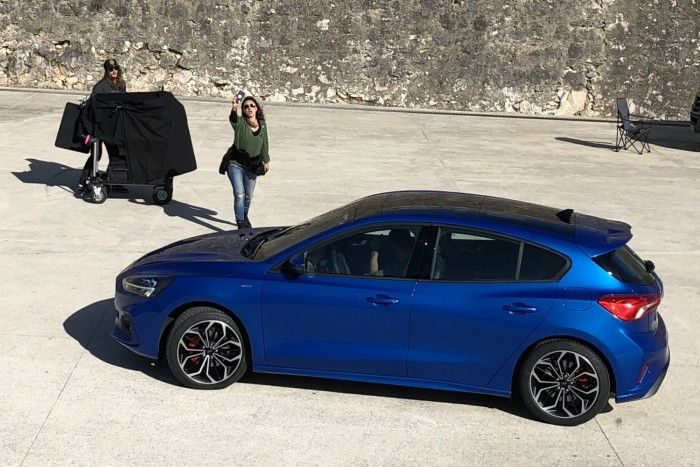Fourth Generation 2019 Ford Focus Spotted Without Camouflage Ford Focus Ford Focus Hatchback New Ford Focus