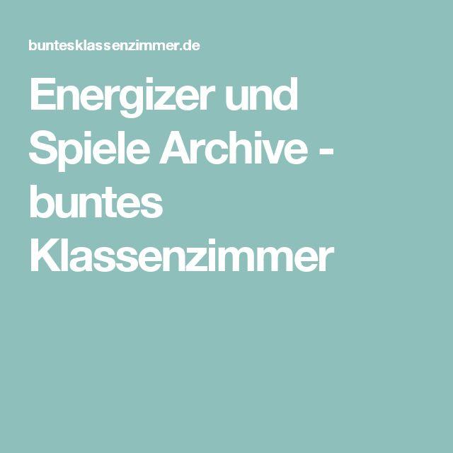 Energizer und Spiele Archive - buntes Klassenzimmer