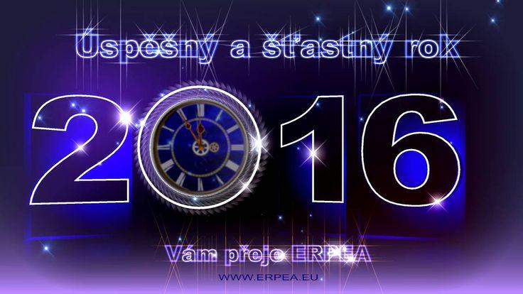 ERPEA vám přeje veselé vánoce a šťastný rok 2016