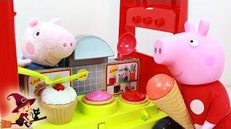 Pizzería de Peppa Pig Juguetes de Cocina - YouTube