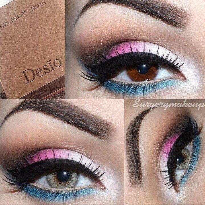 beautiful, eye, eye liner, eyeliner, eyes - image #135381 ...   Pretty Eye Contacts