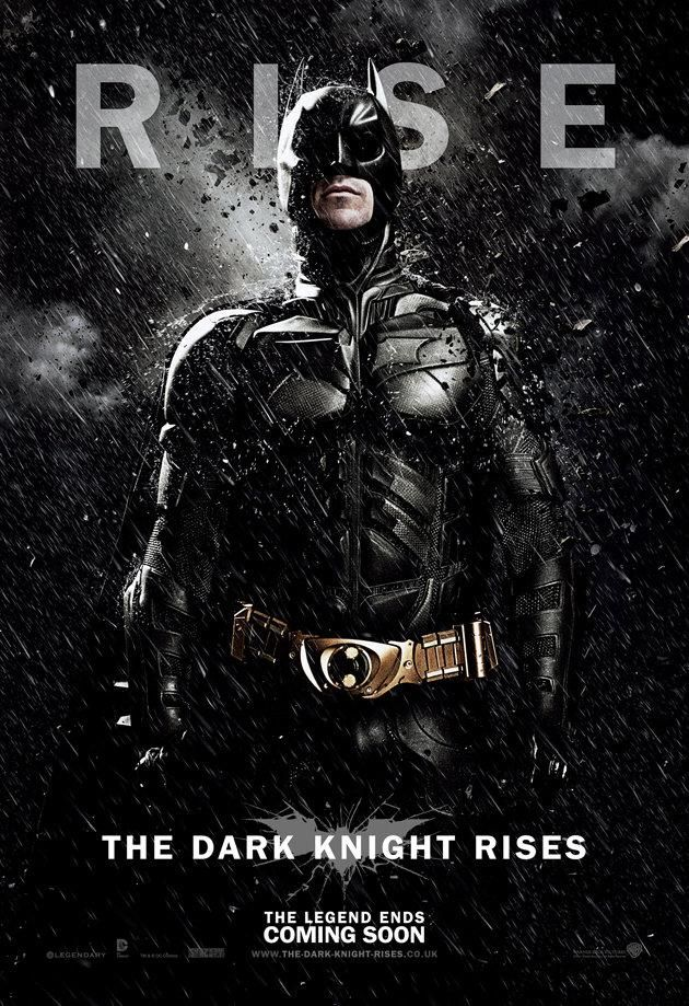 Character Poster For THE DARK KNIGHT RISES