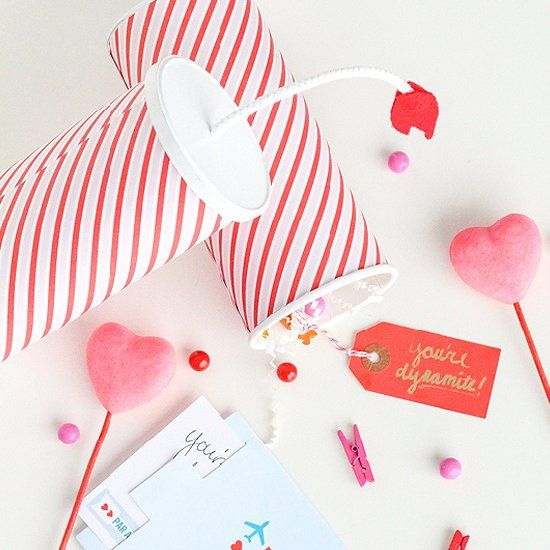 Make These Diy You Re Dynamite Valentine S With Just A Few Simple Things Around The House Craftgawker Pinterest Craft And Paper