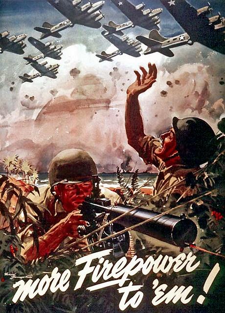 WW II - more firepower