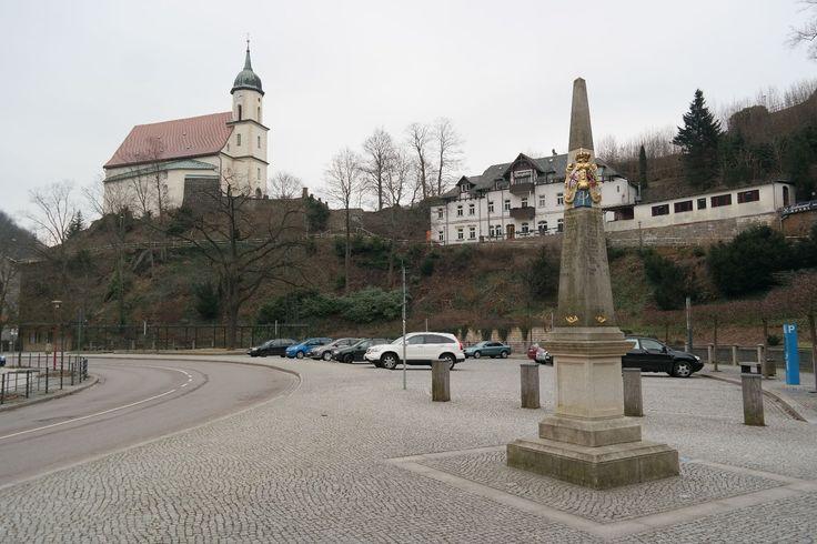 Burgruine Tharandt in Tharandt, Sachsen